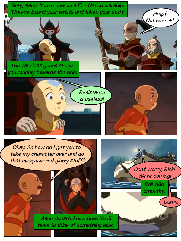 Aang On While We Mount A Rescue