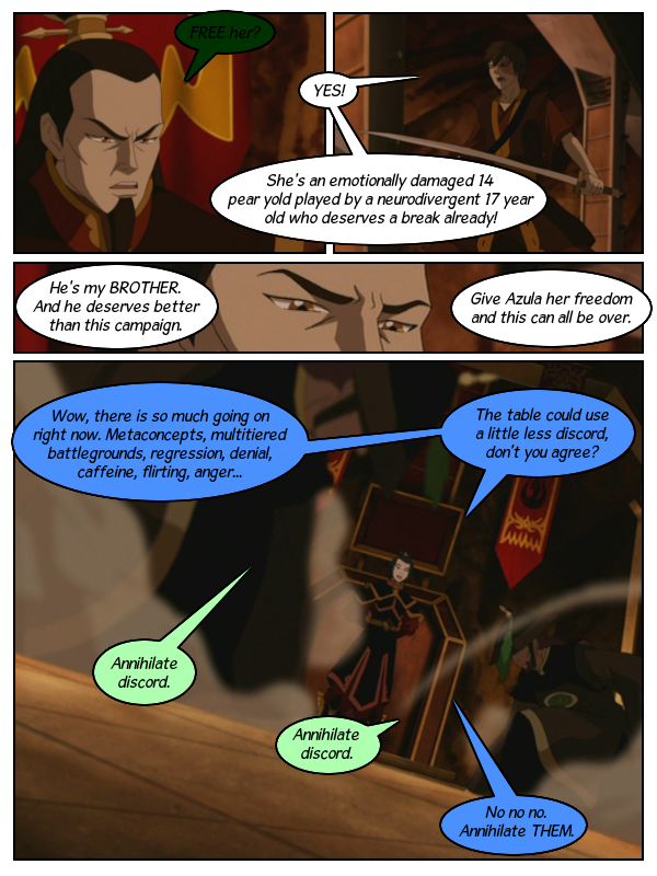 Azula Accurately Assessed